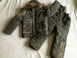 Комплект куртка и полукомбинезон Кузя на 4 года