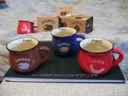 Винтажные керамические кружки чашки