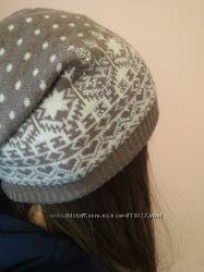 Коричневая шапка