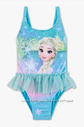 купальники  Disney, C&A Frozen сдельный и раздельный