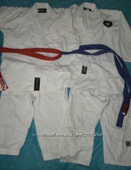 blitz Кимоно комплект куртка штаны пояс карате дзюдо айкидо