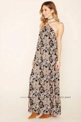 Элегантное макси платье Forever 21 размер S