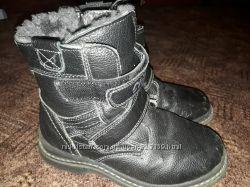 Детские зимние ботинки  30, 34рр