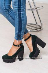 Шикарные туфли Натур кожа и замша 8 цветов