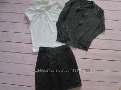 Школьная форма Marks&Spenser юбки и пр 7-8 лет
