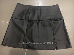 Польская юбка с кожзама в размере М