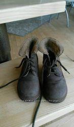 Ботинки на утеплении d&g junior 26 оригинал