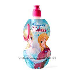 Мягкая бутылка для воды, сока с удобным креплением Disney Испания