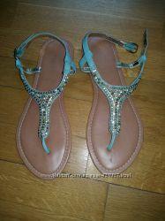 Кожаные босоножки сандалии MARKS&SPENSER 38 р