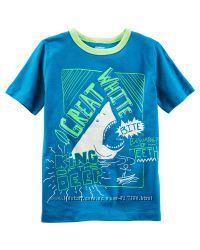 Новые футболки OshKosh на 5-8 лет