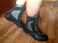 Зимние ботинки со съемным валенком-все размеры 36-45