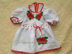 Вишите платтячко для дівчинки