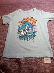 Новая футболка Weirdfish, р. 5-6 лет.