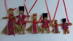 Handmade. ---Неразлучники--- Размеры Оберег-подарок. Кукла-мотанка.