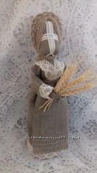 Кукла-мотанка -Злата- Подарок -оберег в дом.