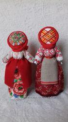 Кукла-мотанка Берегиня Handmade. Рост 27 см.