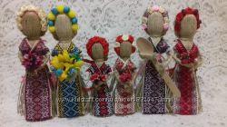 Лялька-мотанка Берегиня Зріст 10, 15, 18, 22, 26 см. Handmade. Подарунок-