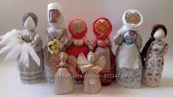 Подарок-оберег в дом Берегиня Кукла-мотанка. Handmade.