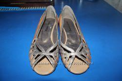 Кожаные летние туфли Emilio Luca