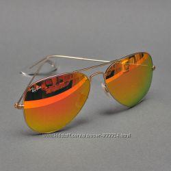 Солнцезащитные очки Ray-Ban Aviator 3025 11269 High Quality Стекло авиатор befa75f38a9