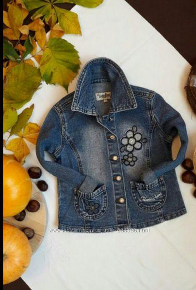 Джинсова куртка Gloria Jeans 2years 98cm