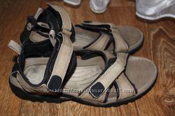 Босоножки, сандалии Timberland. 39 размер. 25см. Нубук. Оригинал.