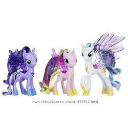 Маленькие пони My Little Pony, луна,  селестия, каденс и др.