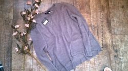 Новый свитер, кофта серая с опущеными плечами Atmosphere оversize овесайз