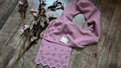 Новый теплый шарф флисовый, нежно розовый от Bhs-Англия