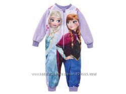Качественная флисовая пижама-ромпер Disney Frozen Германия