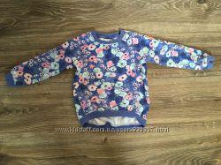 Дівчача кофта-реглан в квіти 104