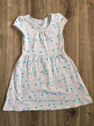 Плаття бавовняне для дівчинки 110 4-5 років