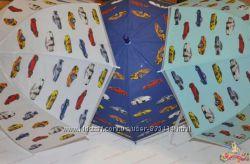 Детский зонтик для мальчика с машинками