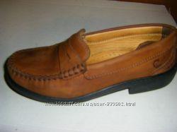 Бесподобные кожаные туфли Маркс и Спенсер и Кларкс  20-21, 5 см по стельке