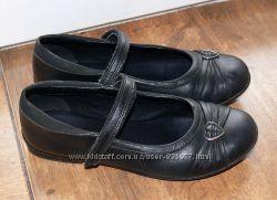 Кожанные туфли Кларкс Clarks 2 12F -  35р. 22, 5 по стельке