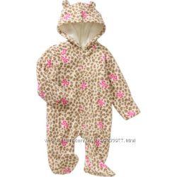 Флисовый комбинезон  человечек 3-6 м. - Healthtex Newborn Baby