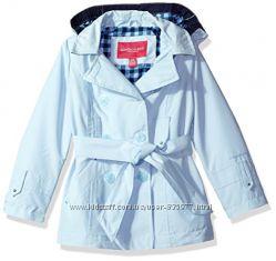 Красивейший нежно- голубой осенний плащик курка для девочки 4-5 лет. London