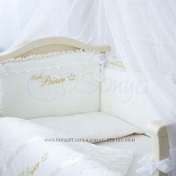 Комплект постельного в кроватку Принц сатин