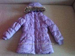 Теплая куртка пальто Ino Girl Польша р. 92-98