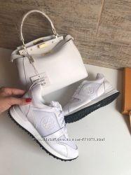 Кроссовки Louis Vuitton белые