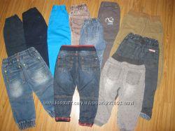 Фирменные джинсы, брюки NEXT, F&F,  DUNNES, TOPOLINO, от 1, 5-2 лет Часть 3