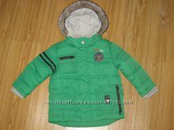 Яркая красивая зимняя курточка NEXT на 1, 5-2 года рост 92 см. Сост. отличн