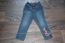 Узкие джинсы Дисней с Минни Маус на 1, 5-3 года
