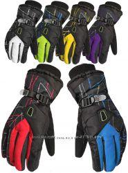 Мужские горнолыжные перчатки Kineed перчатки лыжные 6 цветов, размер M-L