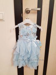 American Princess нарядное праздничное красивое платье девочке годик