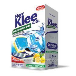 Таблетки для посудомоечной машины Klee All in1 102 шт Германия