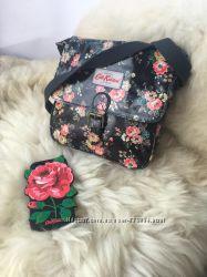 Модная трендовая сумка сумочка кросс боди, принт цветы cath kidston