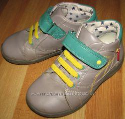 Кожаные демисезонные ботинки Marks and Spencer р. 11UK длина стельки 19. 5с