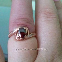 Кольцо позолота 585 пробы