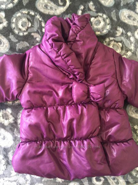 Курточка для дівчинки Okау 86 зріст